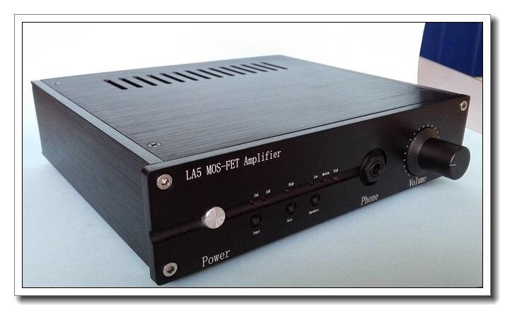 LA5 MOS-FET بيور الفئة a سماعة للصوت تأثير الحقل أنبوب ايفي OPA2604 سماعة الأمبير