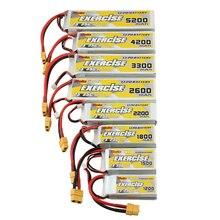 SoloGood-Batteries Lipo 2S 7.4V, 1200 1500 1800 2200 mAh, pour Machine à quatre axes