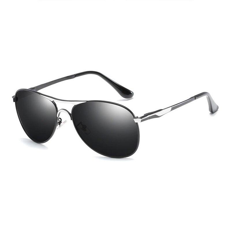 8722 moda óculos de sol polarizados uv400 proteção contra forte luz solar polarizar liga piloto sunwear