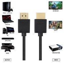 0.3M 1.5M 2M 3M 5M 7.5M 10M 15M pozłacana wtyczka męski-męski kabel HDMI 1.4 wersja 1080p 3D dla PS3HDTV