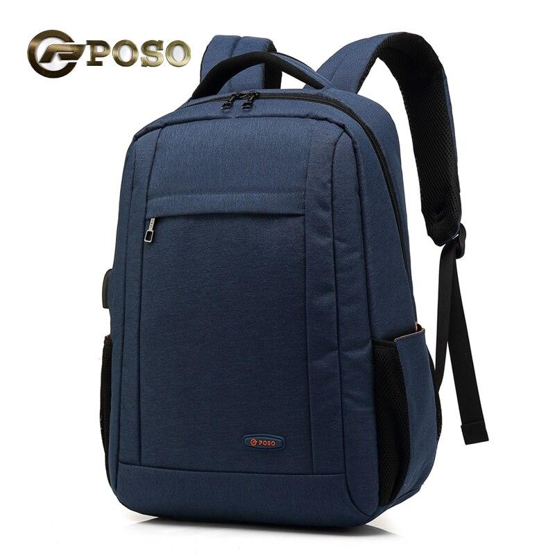 Мужской рюкзак, черный рюкзак для путешествий, ноутбук 15,6, рюкзак для ноутбука, большой емкости, водонепроницаемый рюкзак для зарядки через ...