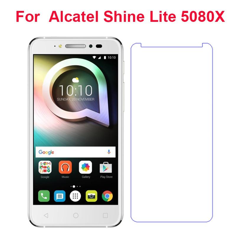 Для Alcatel Shine lite Закаленное стекло Защитная пленка для экрана LCD Передняя пленка чехол для Alcatel Shine Lite 5080X 5,0 ''мобильный телефон