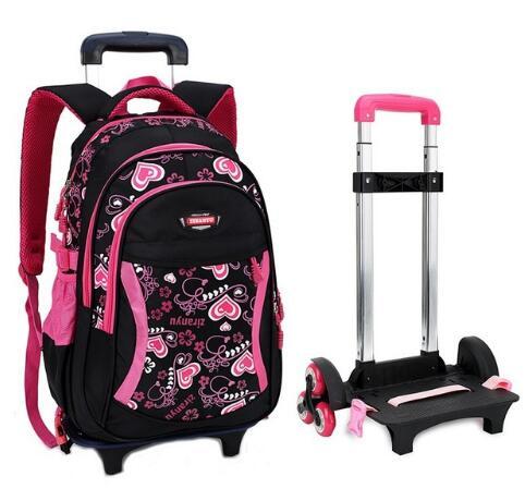 Sac de voyage pour enfants sac à dos à roulettes pour filles sac à dos à roulettes pour filles sac à dos à roulettes pour filles
