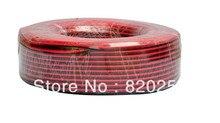 Ücretsiz kargo 100 m/grup, 2pin Kırmızı Siyah kablo, Kalaylı bakır 22AWG, PVC yalıtımlı tel, Elektronik kablo, LED kablo