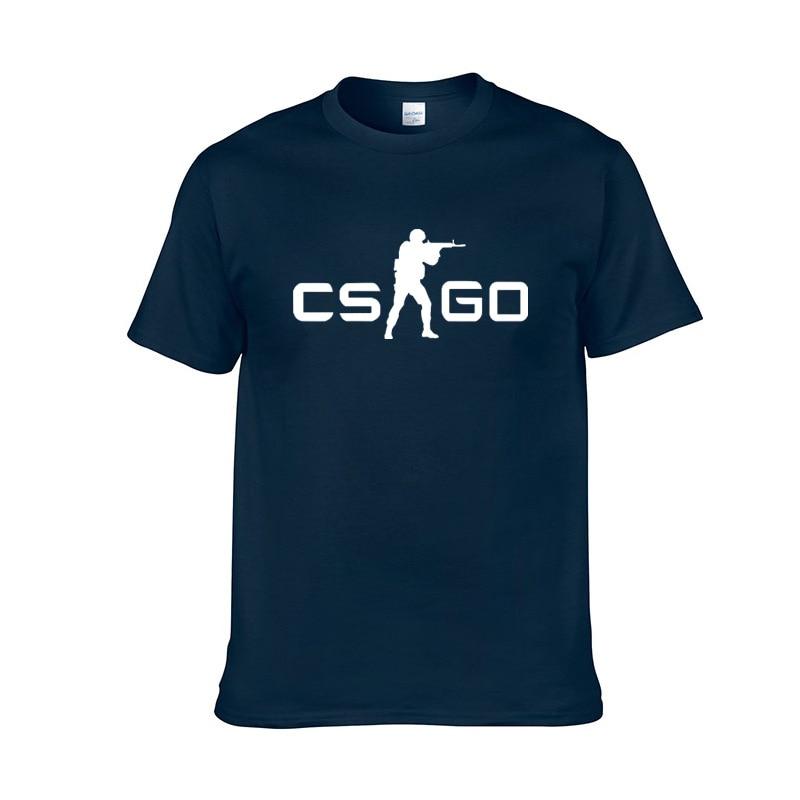 Bueno CS Go Player sudadera camiseta contra golpes Global offensible CSGO hombres algodón Tops calidad marca ropa divertida acogedor camisetas