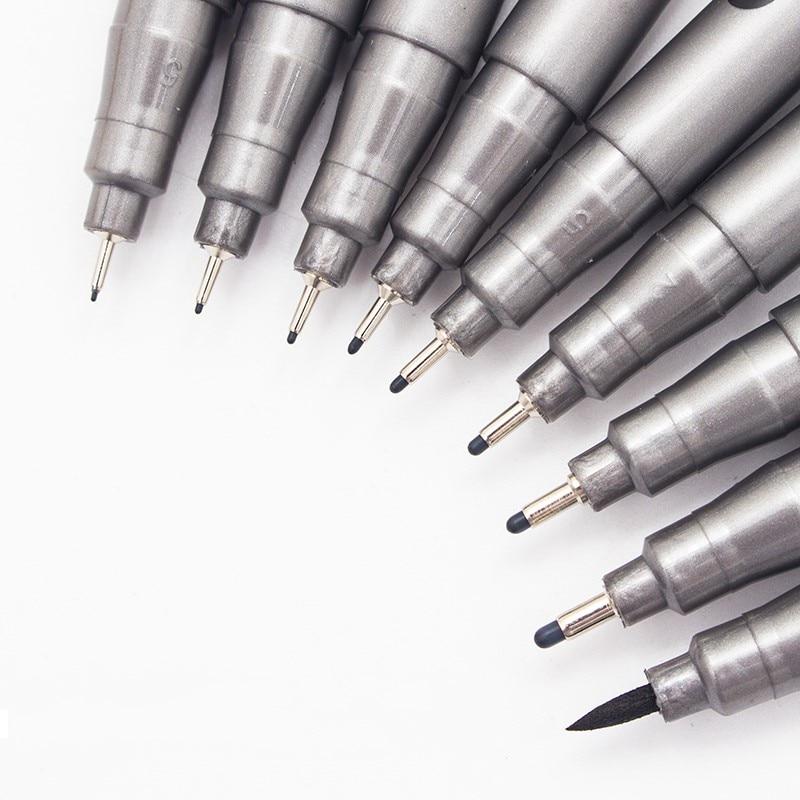 pennarello-inchiostro-1-pezzo-pigma-micron-pennarello-inchiostro-1-pezzo-005-01-02-03-04-05-06-08-diverse-penne-per-schizzi-fineliner-nere
