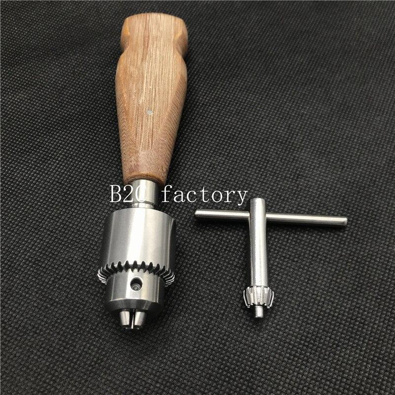 Nova alta qualidade punho de madeira ortopédico osso mão broca veterinária instrumento ortopédico