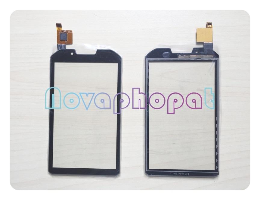 Novaphopat Black Digitizer screen For DNS SD01 SD01M Touch Screen Glass Digitizer Sensor Sceen Replacement +tracking