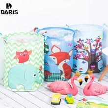 SDARISB 35*45cm panier de rangement étanche pour jouet sale panier à linge sac vêtements jouets boîte de rangement articles divers tissu pliant