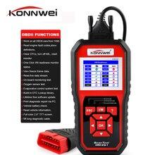 KONNWEI KW850 OBD2 сканер EODB CAN автоматический сканер один клик обновления диагностики автомобиля лучше, чем ELM327 диагностический инструмент тестер батареи