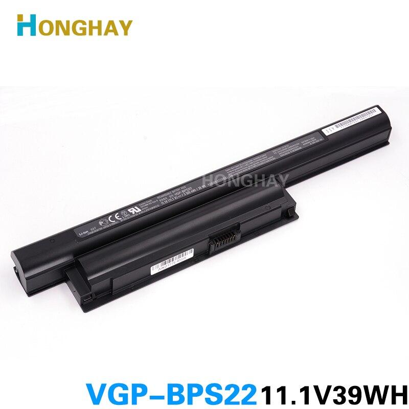 HONGHA laptop batterie für BPS22 VGP-BPS22 VGP-BPL22 VGP-BPS22A VGP-BPS22/A notebook batterie für SONY VAIO E bateria akku