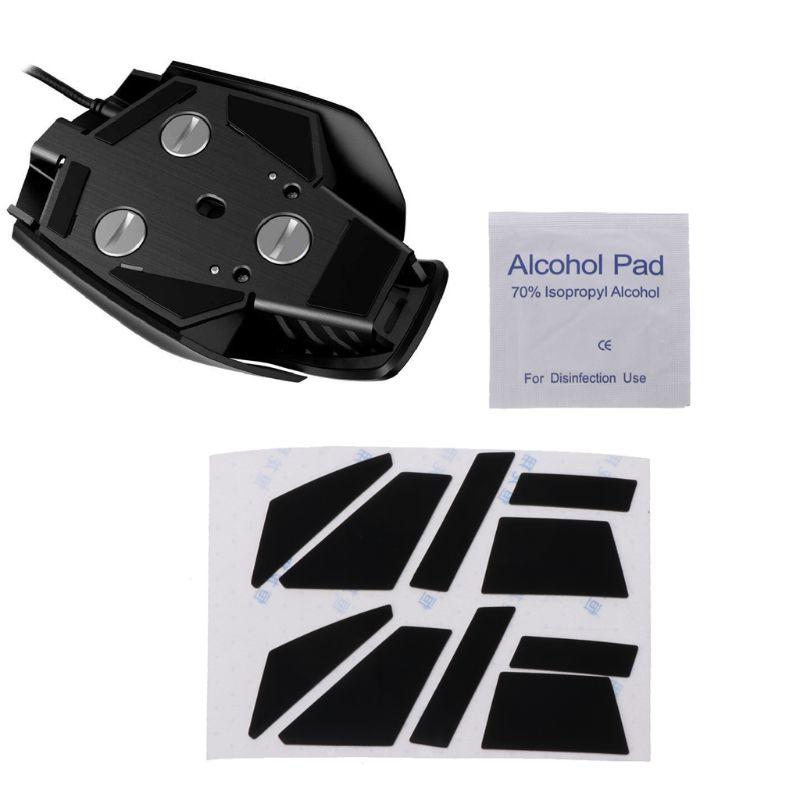 2 комплекта 0,6 мм коврик для мыши коньки коврик для мыши для Corsair M65 PRO RGB Mouse