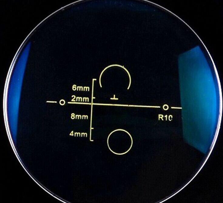 Lente Multifocal Progressiva, o índice de 1.56, 1.61, de forma livre, Multifocal lente, lentes de prescrição, anti UV400, Anti reflexivo, miopia