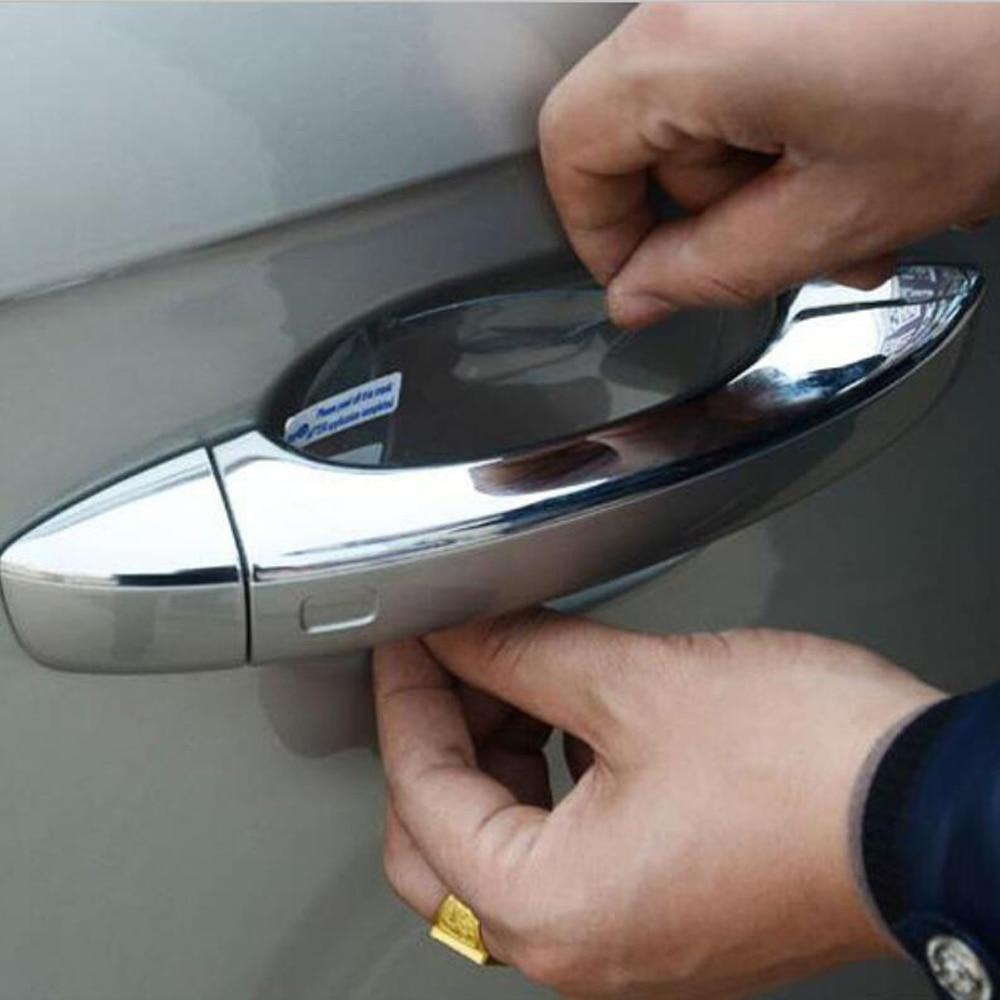 Película transparente para porta, de alta qualidade para volkswagen golf 5 6 7 jetta mk5 mk6 mk7 cc tiguan passat b6 b7 scirocco touareg