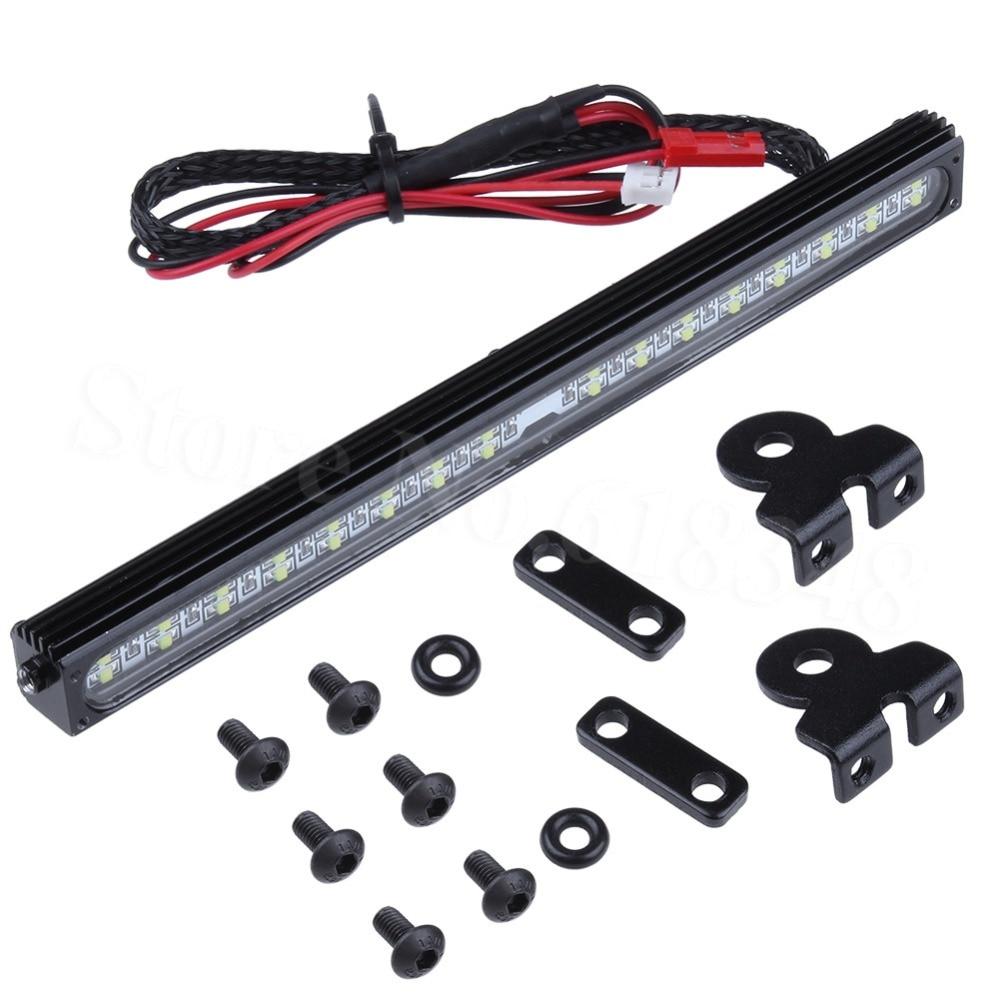 32 Barra de luces LED lámpara de techo para 1/10 RC Crawler Traxxas Trx-4 Trx4 SCX10 90027 SCX10 II 90046 90047 RC4WD D90 Accesorios