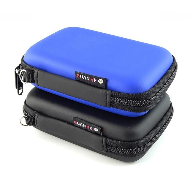 Mini Zipper Digital Storage Bag Waterproof Travel EVA Case For Earphone, Data Cable , Charger, Portable Gadget Pocket Pouch
