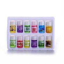 Pure ธรรมชาติ3Ml Essential Oils 12Pc ชุด100% Pure น้ำมันหอมระเหยน้ำมันหอมระเหย,ชุดตัวอย่างสำหรับผู้เริ่มต้น,Lavender, Tea ...