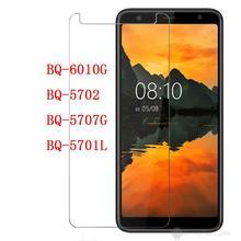 Smartphone de vidrio templado 9 H para BQ Mobiie BQ-6010G cortadoras manuales Practic de película protectora de pantalla Protector de la cubierta para BQ-5702 5707G 5701L