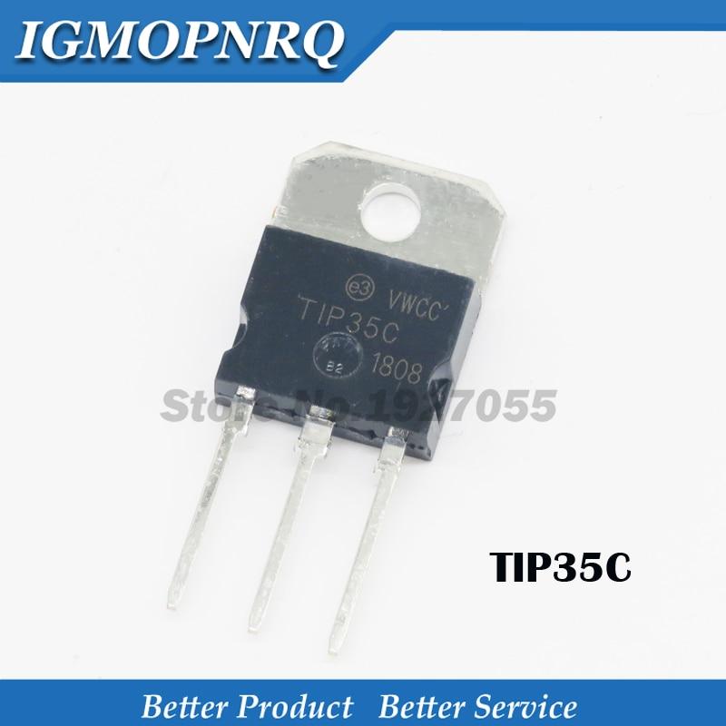 10PCS free shipping TIP35C TO -3P TIP35 TO-218 Bipolar Transistors - BJT 25A 100V 125W NPN new original