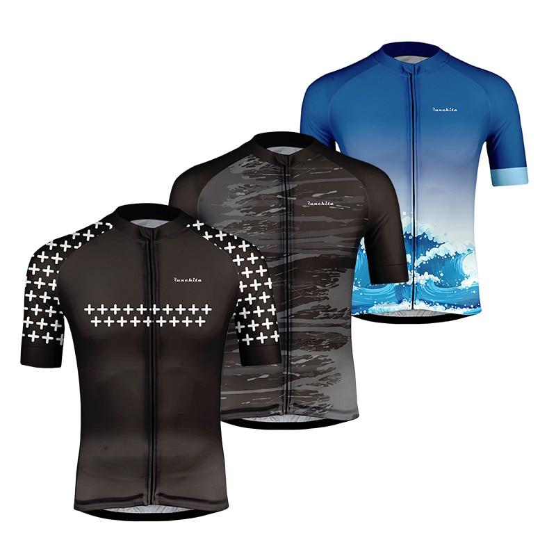 Verano transpirable Ciclismo Jersey manga corta Ropa De Ciclismo bicicleta Ropa MTB bicicleta Ropa