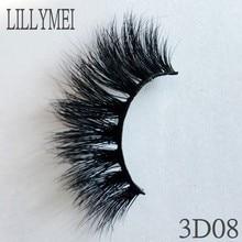 UPS Free Shipping 300pair/lot 15MM long natural false eyelash100% Cruelty free Handmade Crisscross 5D Mink lashes Extention