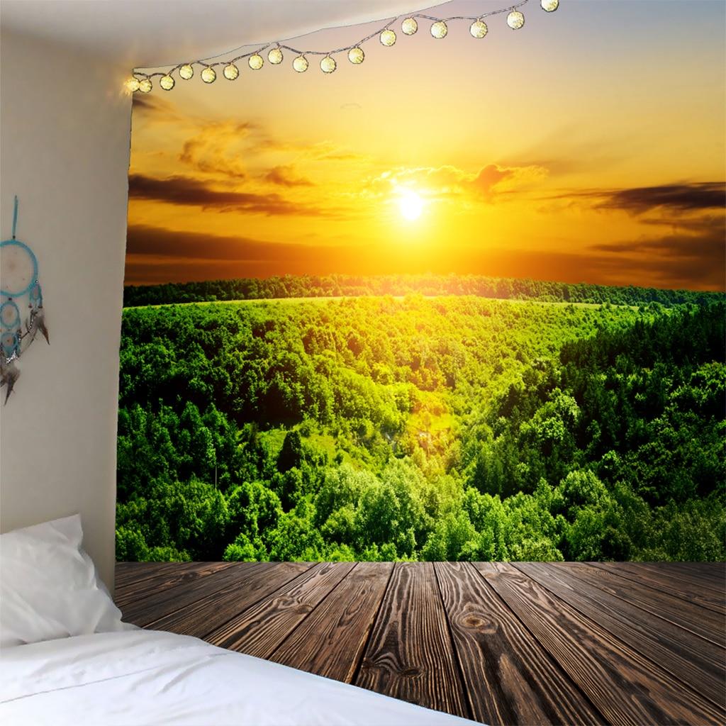 MagiDeal decoración de pared para interiores y exteriores tapiz colgante 3D Toalla de playa SunshineD