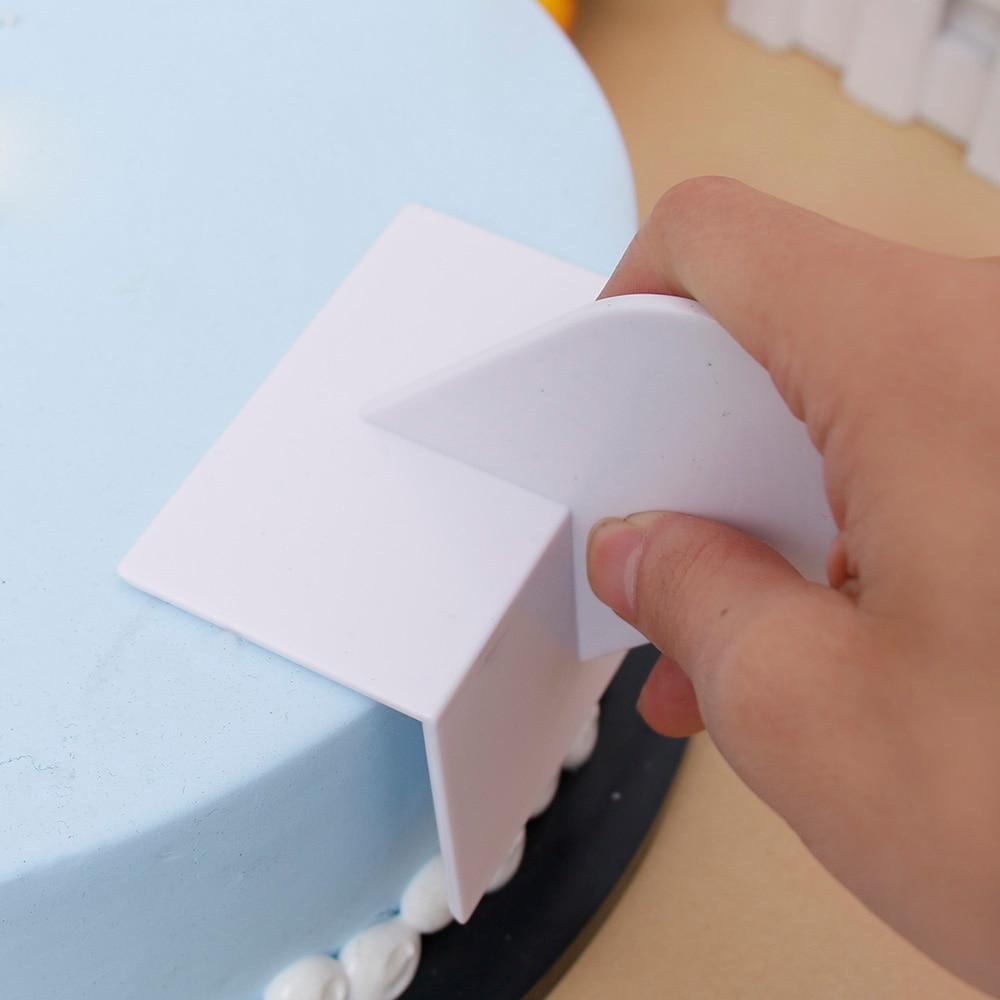 Гладкий полировщик для торта, инструменты для помадки, инструменты для торта, форма для полировки поверхности, формочки для печенья, глазур...