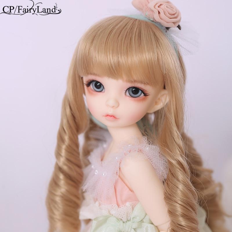 Frete grátis bjd bonecas fairyland littlefee ante fullset 1/6 26cm yosdlcc luts espírito elf resina bluefairy lance lati
