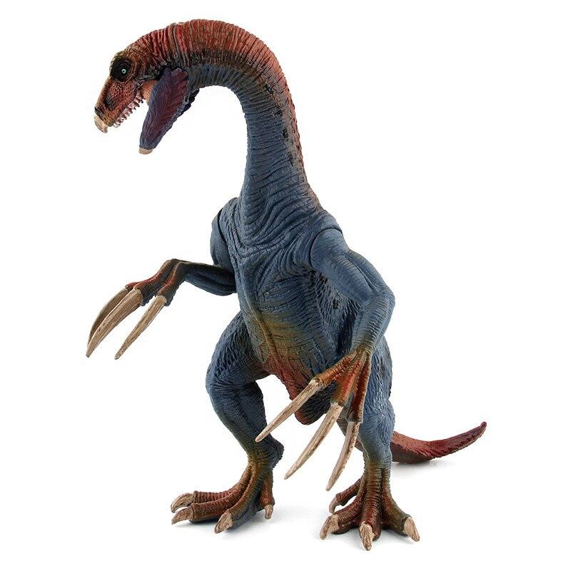 Pterosaurio Jurásico Carnotaurus popular, dinosaurios modelos de plástico, figuras de acción de Therizinosaurus, juguete de colección de animales