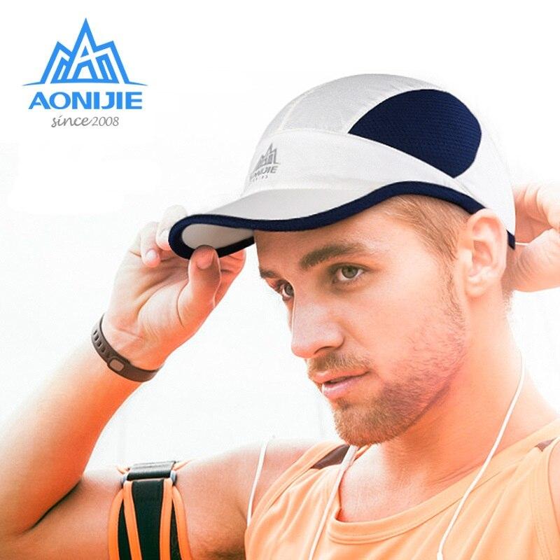 AONIJIE, gorras ultraligeras para adultos, para correr, deportes al aire libre, Unisex, visera para correr, para correr, gorra de secado rápido, para correr, Golf, tenis