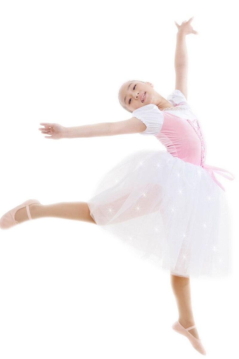 White Professional Ballet Costumes Child Dance Clothes Female Children Costume Dress Children Dance Costumes for Girls Ballet