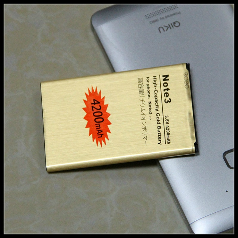 For Samsung Note 3 battery B800BE B800BC Golden Replacement Battery for GALAXY NOTE3 N9000 N9006 N9002 N9005 N9008 N909 battery enlarge