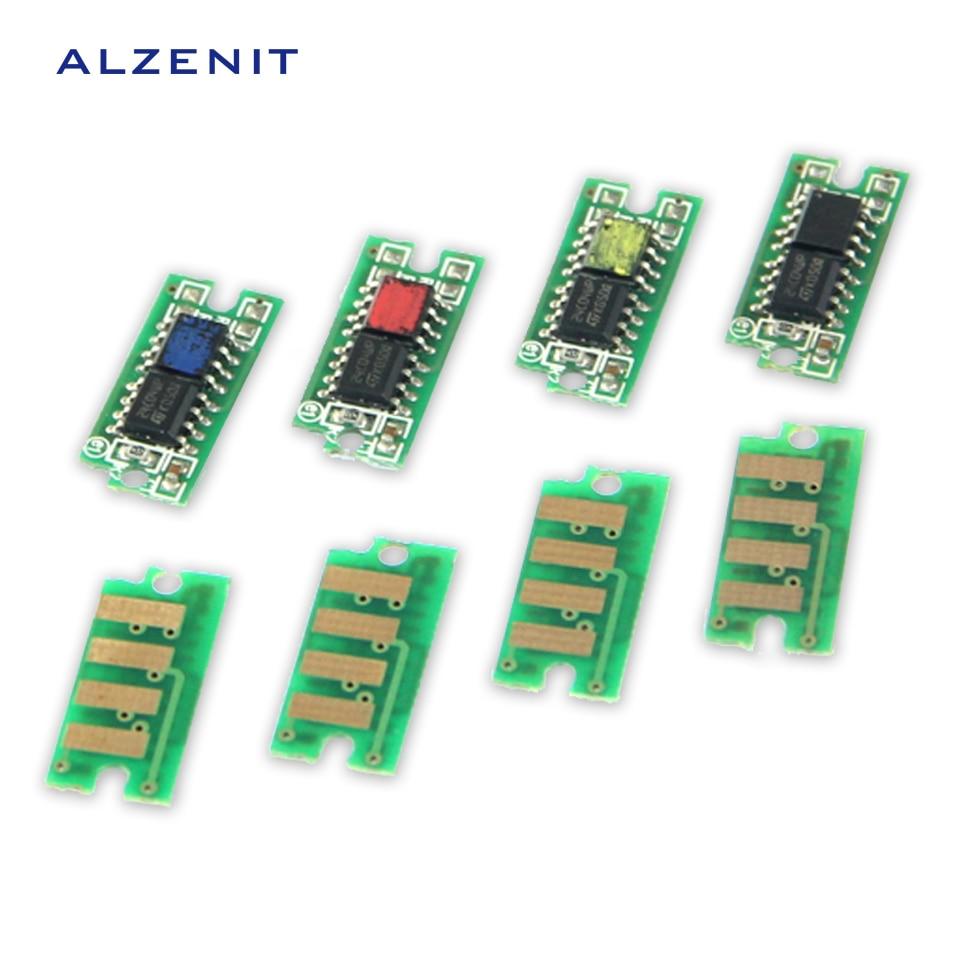 4Pcs GZLSPART For Dell C1660 C1760 C1765 OEM New Drum Count Chip Four Color Printer Parts