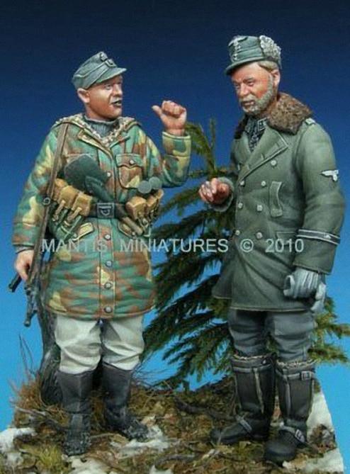 135 soldados Alemães conversa
