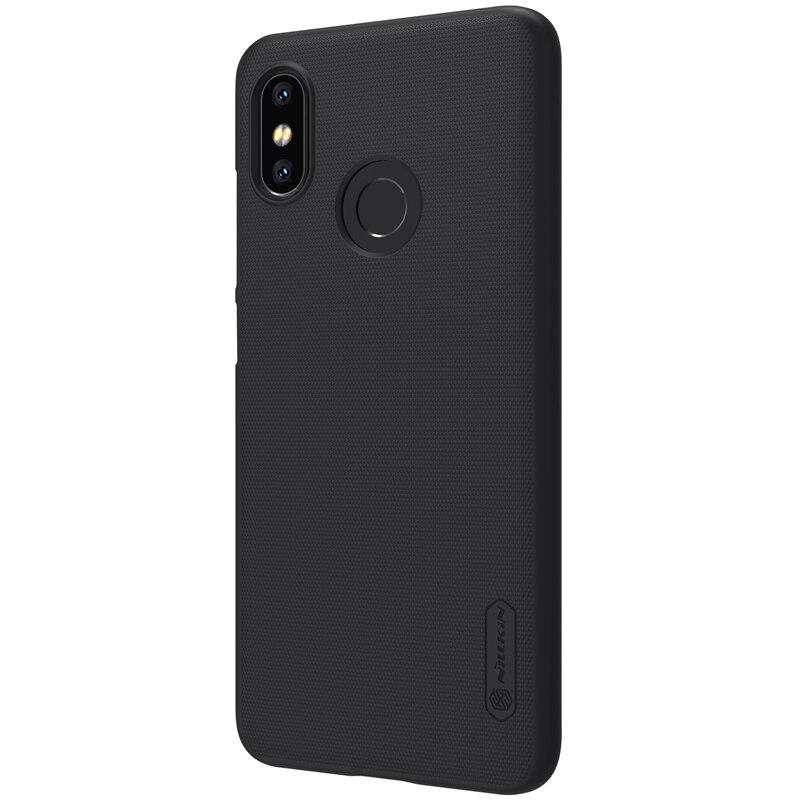 Funda para Xiaomi Mi 8, funda para Xiaomi Mi8, funda Nillkin esmerilada, carcasa mate duro, funda trasera para Xiao Mi 8, funda con regalo