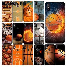 Babaite حرق كرة السلة الرياضة مجال العملاء عالية الجودة جراب هاتف ل redmi 5 زائد 5A 6pro 4X نوت 5A نوت 4X نوت 7 6A غطاء