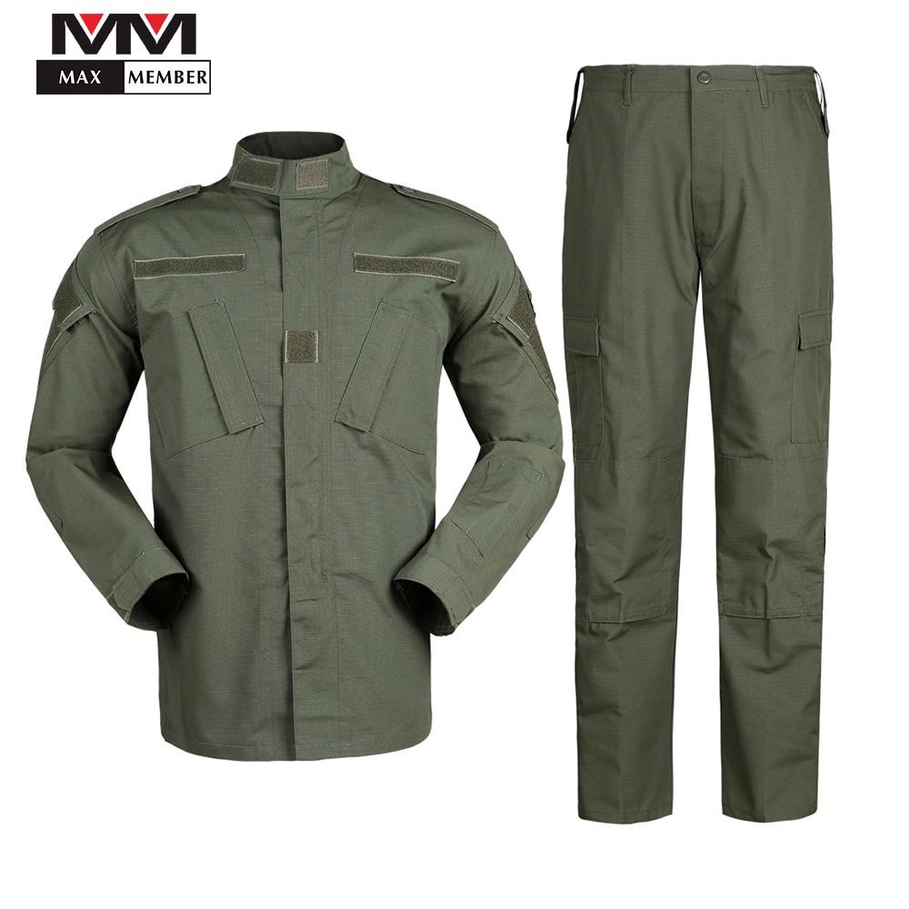 Армейская камуфляжная форма tsu Style, армейская зеленая камуфляжная форма, армейская охотничья мужская куртка + штаны, комплект одежды для охоты