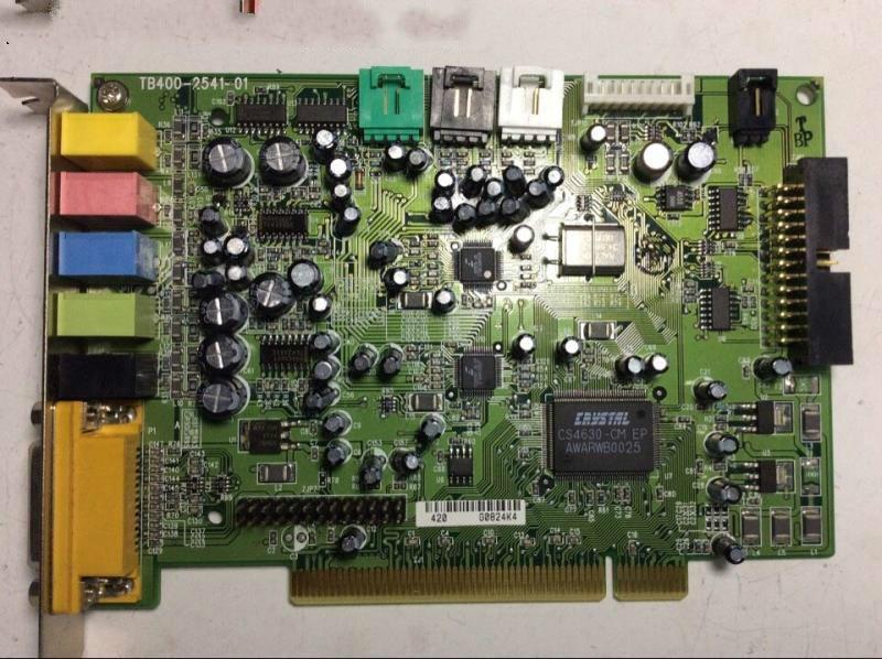 Оригинальная звуковая карта CS4630, 5,1-канальная звуковая карта, отличное качество звука! (не поддерживает WIN10)
