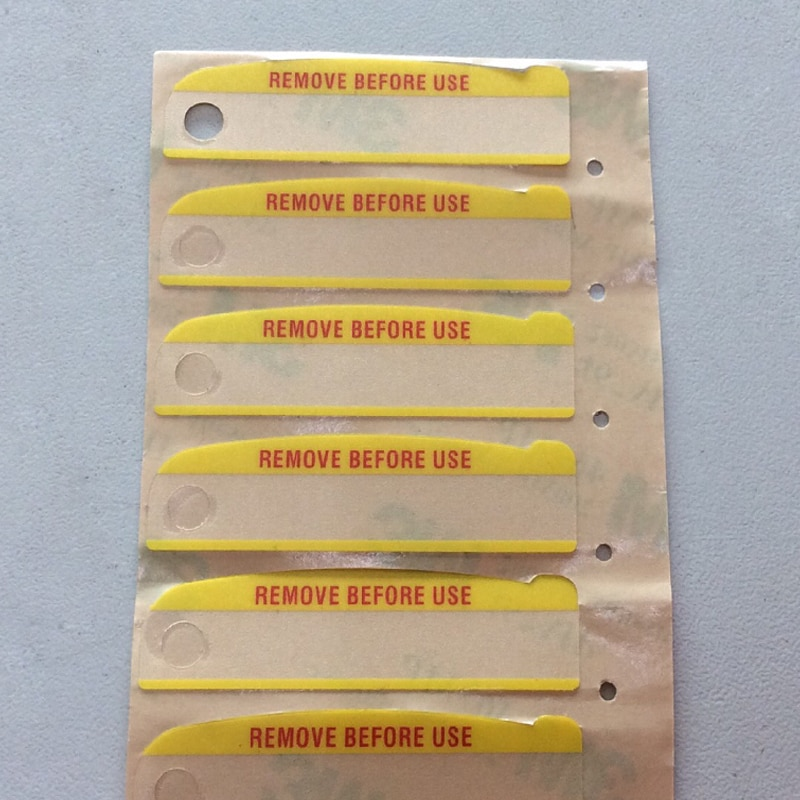 50 x eliminar antes de usar la etiqueta para Motorola XTS2500 XTS1500 XTS2250 XTS2500I