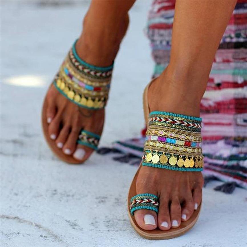 Zapatillas de mujer, chanclas artesanales hechas a mano estilo griego, sandalias estilo bohemio, sandalias de mujer, chanclas de verano al aire libre #1