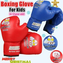 Hotsale enfants gants de boxe junior mitaines de frappe mma kickboxing Sparring gant enfants MMA sac de boxe drôle dessin animé gant de boxe