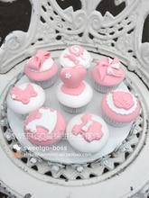 Faux gâteau artificiel, 4 pièces, faux dessert en argile, wagashi, pour magasin de gâteaux, décoration de table à thé