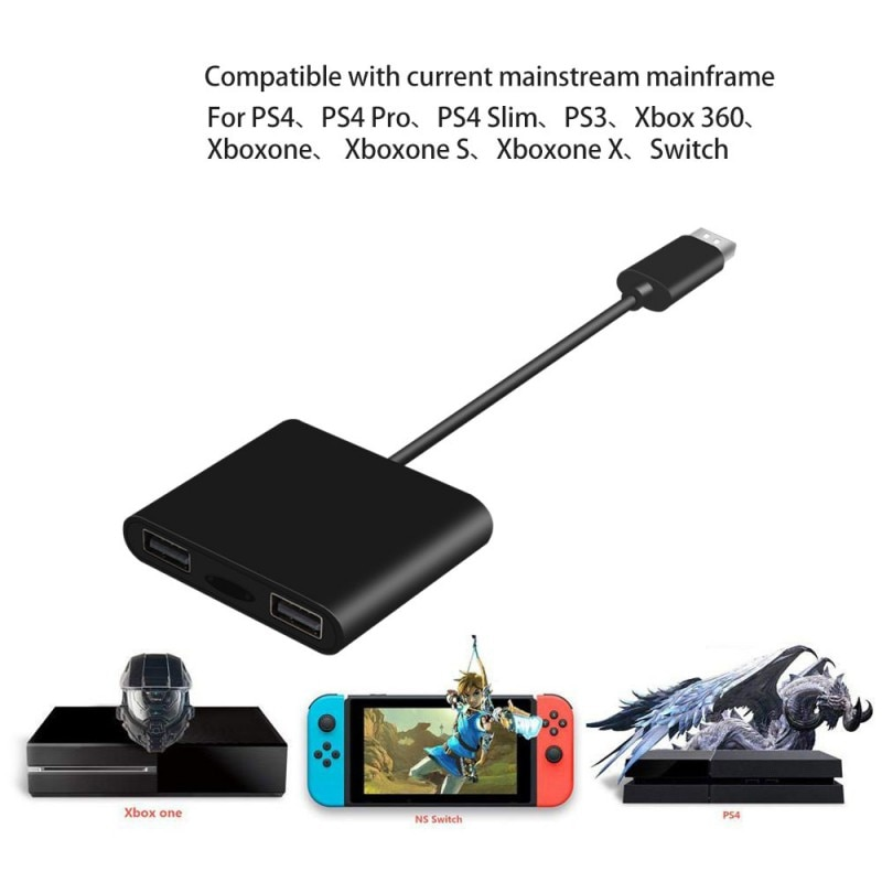 Mouse Bluetooth 4.0-Controlador de jogo Converter-Teclado-Adaptador Para Xbox para PlayStation 4 Para Nintendo Swtich