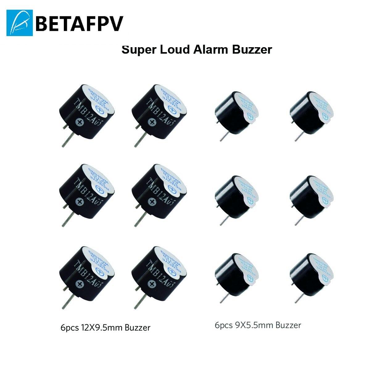 BETAFPV Super fort DC 5 V alarme Active avertisseur sonore Tracker 2 terminaux électronique continu son avertisseur sonore 12X9.5mm et 9X5.5mm
