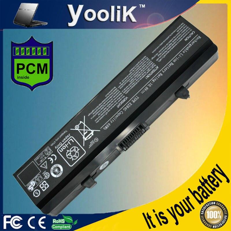 Batería del ordenador portátil para Dell Inspiron rn873 1525, 1526, 1545, 1546, 1750 GW252 GW240 GP952 PP42L PP29L PP41L K450N D608H RU583
