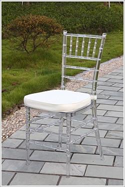 Resina Tiffany banquete silla para boda Chiavari