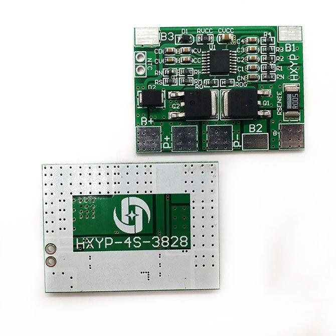 DYKB 4S 12,8 V 14,4 V 8A LiFePO4 litio hierro fosfato batería BMS protección PCB tablero 20A Límite de corriente 3,2 V x4 32650