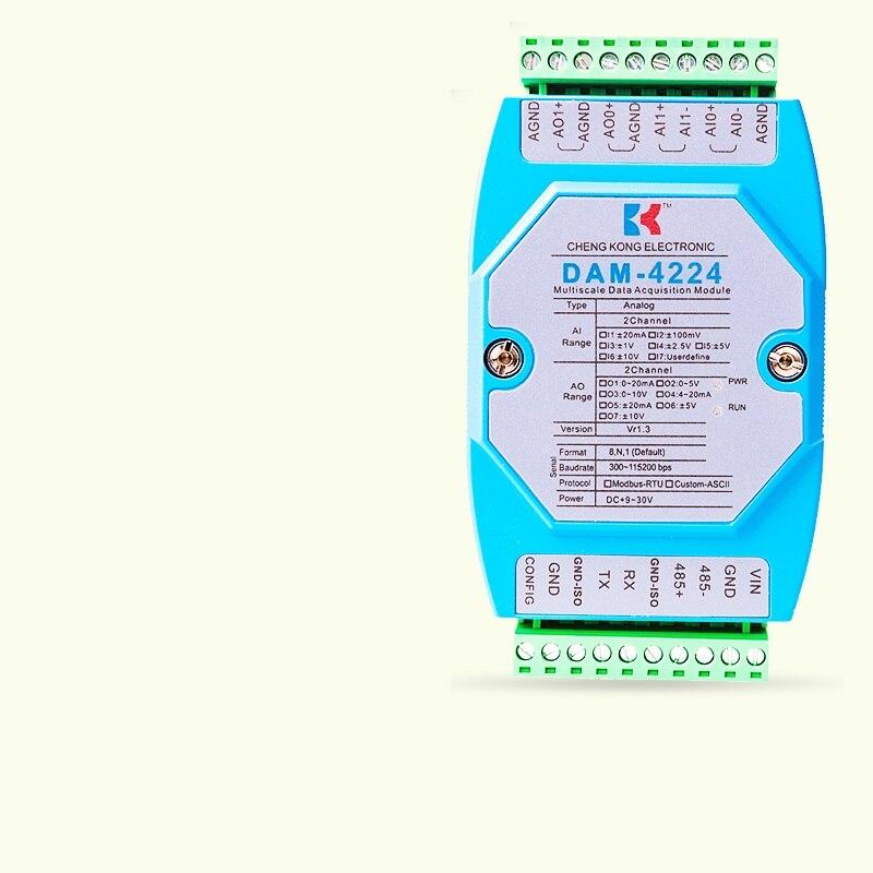 وحدة الإدخال والإخراج التناظرية RS485 ، بطاقة الحصول على البيانات المختلطة الرقمية AIDIAO ، مفتاح الحافلة