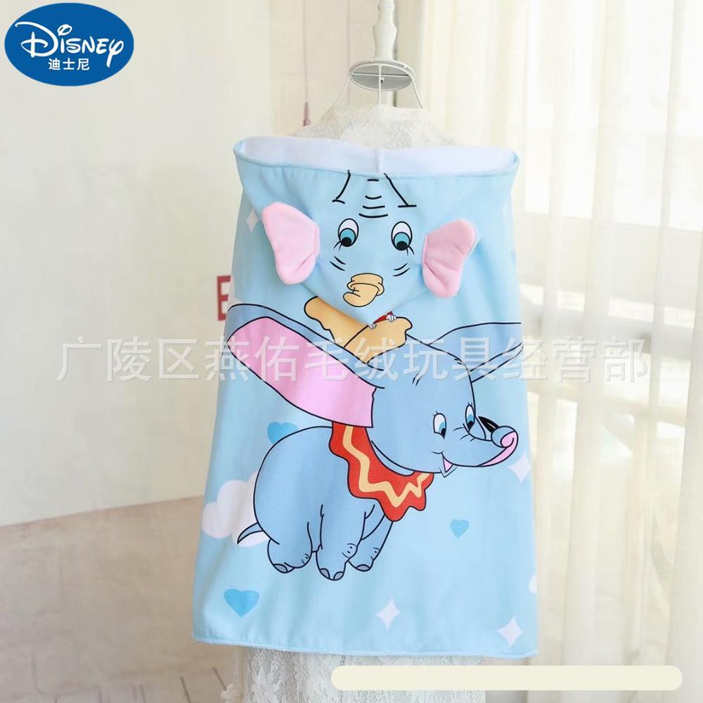 דיסני סלעית גלימת לביש ילדי שמיכת דמבו קיץ שמיכת מגבת מיטת סטודנטים ילדים ילדה ילד מתנות