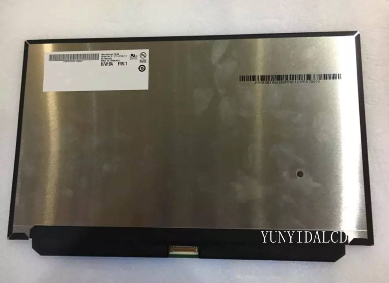 Free shipping new original B125HAN02.2 Brand 12.5inch IPS screen EDP 1920*1080 for HP Notebook